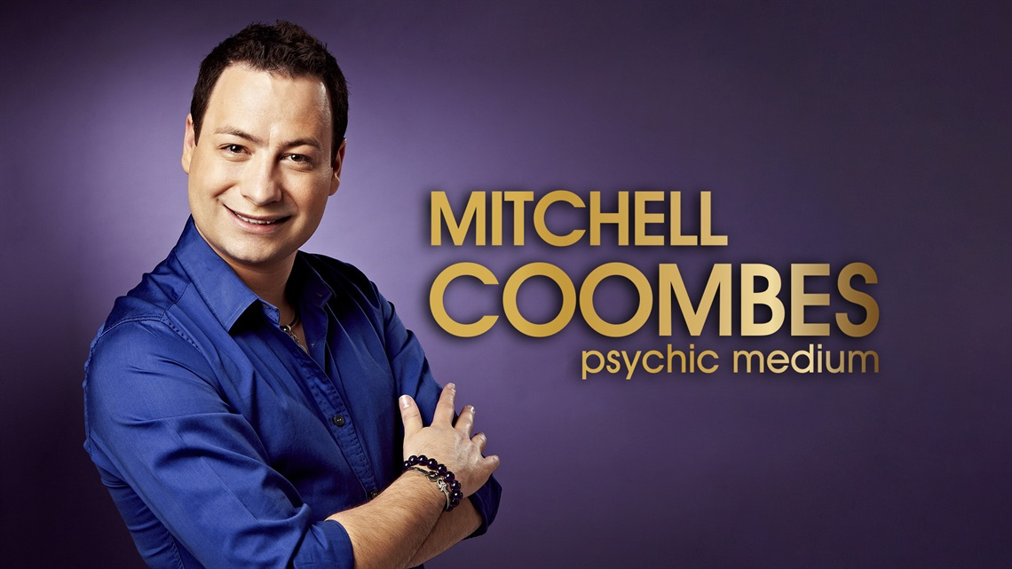 Poster of Psychic Medium Mitchell Coombes