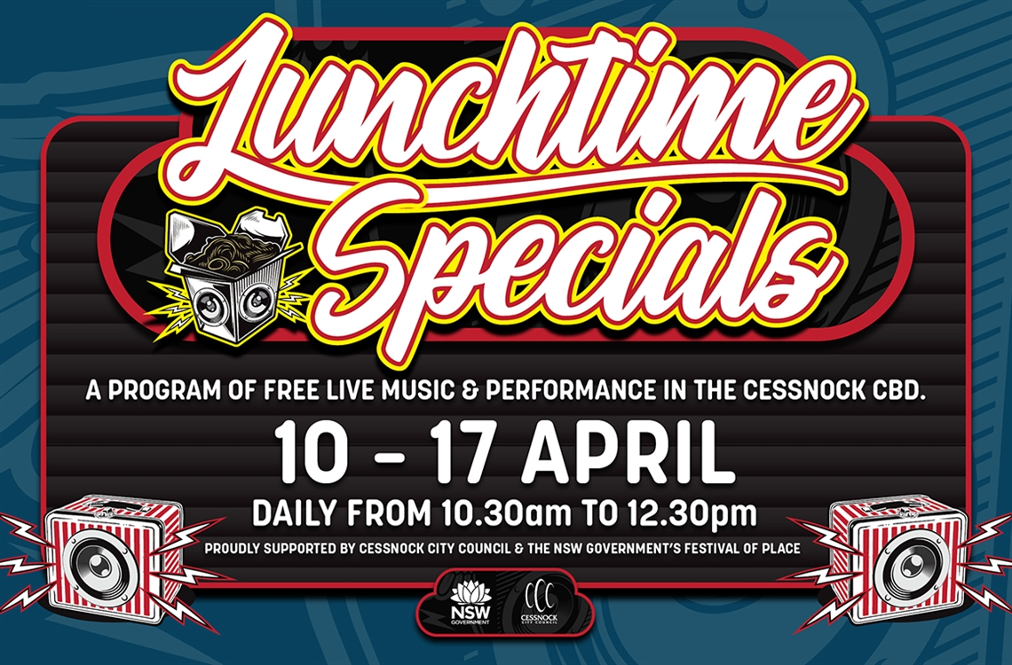Cessnock City Lunchtime Specials